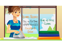 Ironing & Cleaning Services. Quality, Reliable Ironing. Collection & Delivery.