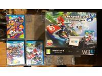 WII U - Black - 32GB - 3 Games - Boxed - £120 ONO