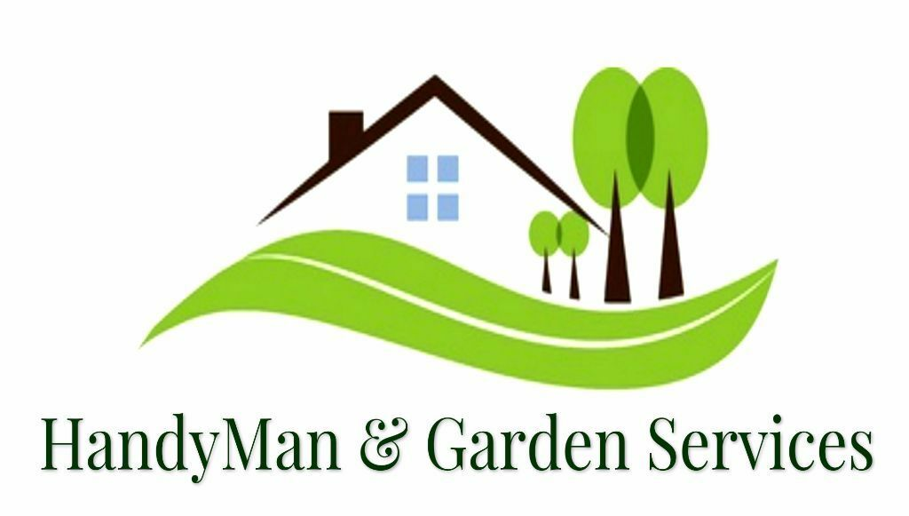 Handyman garden services hedge trimming tree work for Garden maintenance logo