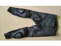 Weise Tornado leather jeans