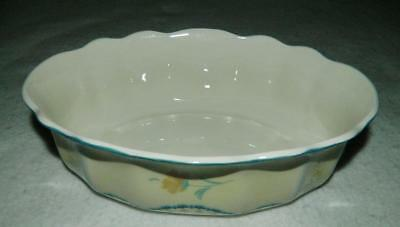 Lenox Provencal Blossom Oval Vegetable Serving Bowl New w Label Blossom Oval Vegetable Bowl