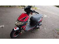 Keeway Hurricane 70cc 2 stroke - MOT until April 2017