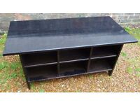 IKEA Leksvik Solid Wood Coffee Table / Shoe Stand / TV Unit