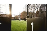 Looking for players for friendly 5 a side football game in Shepherds Bush