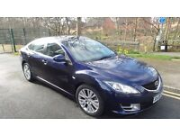 MAZDA 6 2008 TS2 2.0 DIESEL BLUE COLOUR MOTED ANDROID SAT NAV
