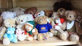 Job Lot of Teddy Bears