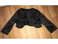 Womans Black 3/4 length jacket for dresses