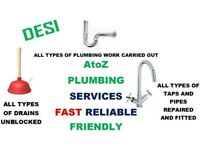 A-Z PLUMBING SERVICES < NO CALL OUT CHARGE! > < EXPERIENCED PLUMBER >