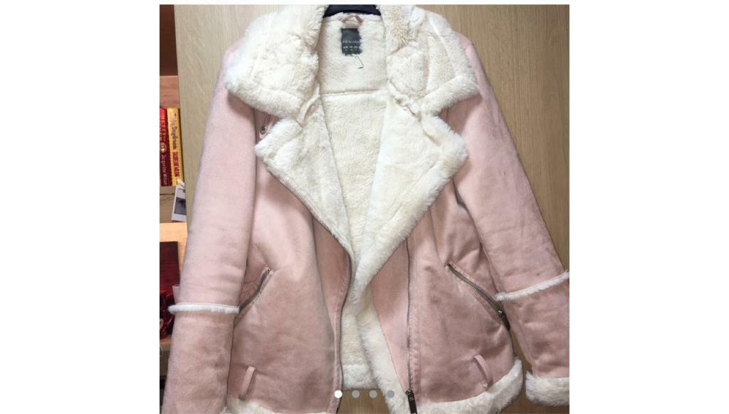 7215f10bc Pink Suede bomber jacket | in Sunderland, Tyne and Wear | Gumtree