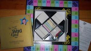 TONY RANDALL WORD QUEST board game 1984 EDITION mint!