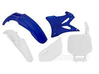 New YZ 85 12-14 Racetech Plastic Kit Motocross Plastics OEM Blue White