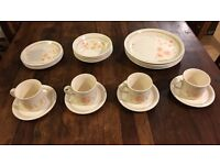 New Beautiful Family of Four Dining Plate Set - 20 Piece, Boxed