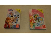 Disney Frozen and Disney Princess card games