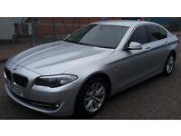 BMW 520D SE 2012, SLIVER,SERVICE HISTORY, 6 SPEED MANUAL