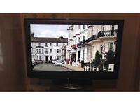 "Panasonic 32"" Full HD 1080p LED Slim TV Freeview Freesat hdmi usb Perfect Working Order, No Offers"