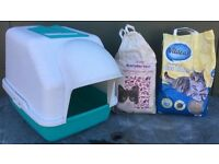 Water proof Weather proof Cat Litter Tray for Outdoors or Indoors