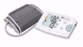 A&D Automatic Blood Pressure Monitor with Extra Large Cuff - unused worth £125