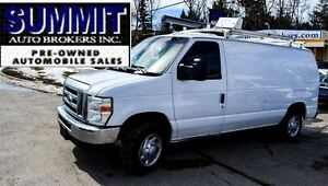 2009 Ford E-150 CAR-PROOF CLEAN   SHELVING   EXTENDABLE MIRRIRS