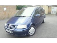 2005 VW SHARAN 1.9 DIESEL AUTOMATIC.MOT UNTIL AUGUST 2017.