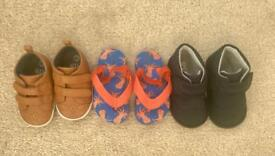 Baby Boys Shoes size 3&4