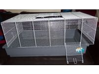Large Syrian or dwarf hamster or a small rodent cage 80 cmX 37cmX46cm