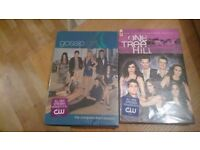 One Tree Hill series 7 and Gossip Girl series 3 dvds