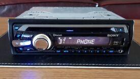 CAR HEAD UNIT SONY XPLOD BT3700U MP3 CD PLAYER WITH BLUETOOTH USB AUX AMPLIFIER AMP STEREO RADIO BT