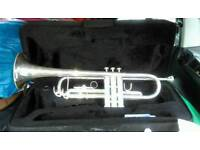 SMS trumpet with case
