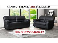 candy 3+two black sofa set was £450 now only £299.99.... many other sofas on offer go thru the pics