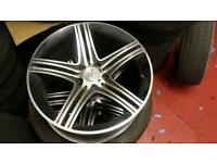 "Merc 18"" alloys x4 5x112"