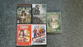 DVDs as pictured