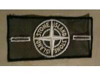 "Stone Island Mesh ""Ice"" Badge. MINT."