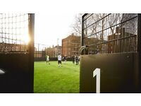 Friendly 5 a side football game at White City, West London needs players!