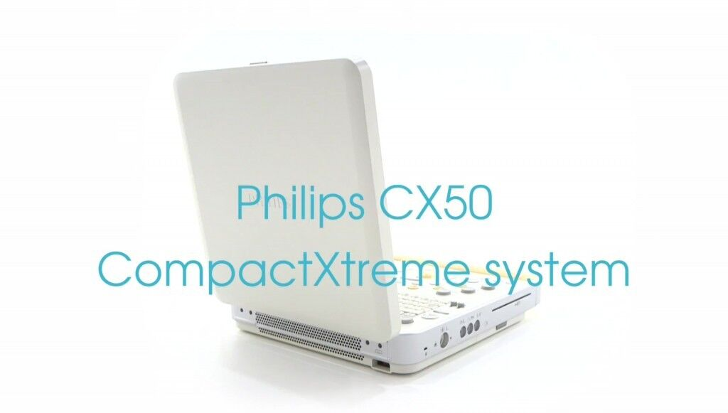 NEW – OPEN BOX PHILIPS CX50 COMPACTXTREME C/V – NEW PORTABLE ULTRASOUND. 1-YEAR WARRANTY!