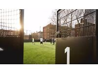 Friday 7pm - Friendly 5 a side football next to White City, Shepherds Bush needs players