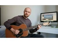 Guitar Teacher in Folkestone - Lessons from the comfort of your own home!