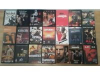 Action/Thriller/Adventure movies on DVD - Any 10 DVDs for £5