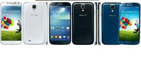Brand New Unlocked Samsung Galaxy S4 16gb Black And White Colour Fully Boxed Up