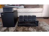 Onkyo TX-SR07 5.1 Home Cinema AV Receiver + 5.1 Jamo Speakers + 30m NEW Speaker Cable