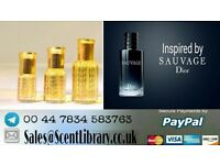 DIOR SAUVAGE INSPIRED PERFUME OIL AND SPRAY