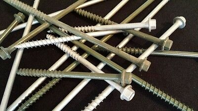 Timber-Tuff Log, Timber and Landscape Screws - LIQUIDATIION (Landscape Timber Screw)