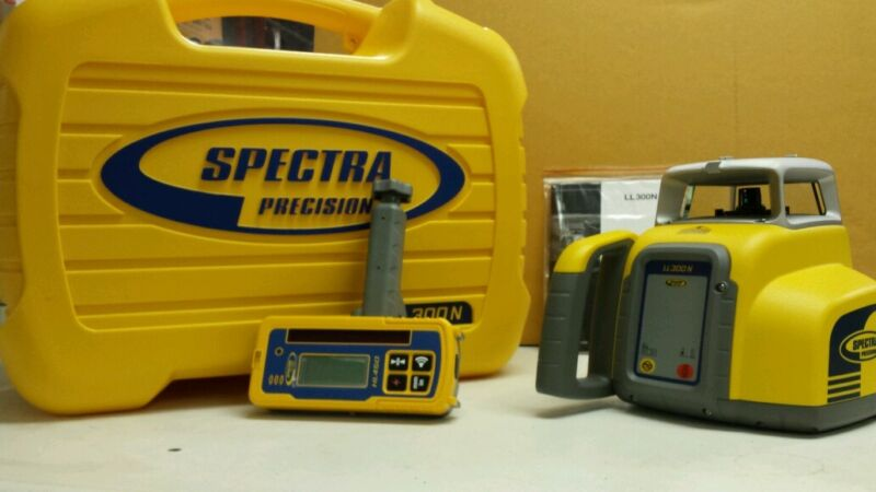 Trimble Spectra Precision LL300N Level W/HL450 RECEIVER