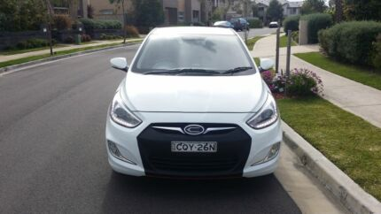 2014 Hyundai Accent SR  West Ryde Ryde Area Preview