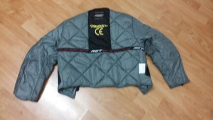 Motorbike jacket and gloves Lidcombe Auburn Area Preview