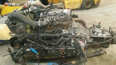 Sale   Cummins 4Bt Turbo Diesel Engine Common Rail With Eaton 5 Speed Frame Cut