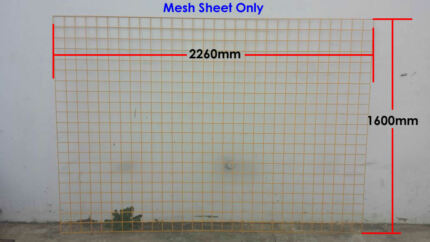 Steel Wire Mesh Sheet for Temporary Fencing - Safety Yellow Yennora Parramatta Area Preview
