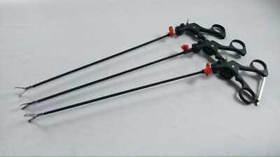 Laparoscopic Storz Type Curved Scissors Allis Grasper Dissector Instruments Set
