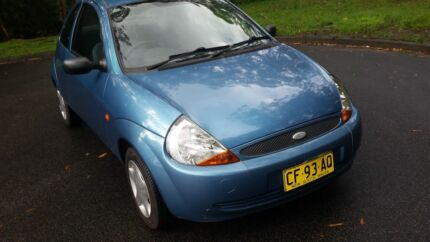 2001 FORD KA2, 81000KM, APRIL 2016 REGO, MANUAL Green Point 2251 Gosford Area Preview