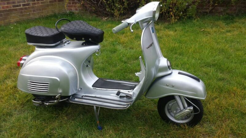 Vespa scooters gave mods the freedom to head down to London or out to the coast