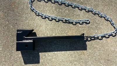Tractor Bucket Loader Trailer Hitch Receiver Skid Steer